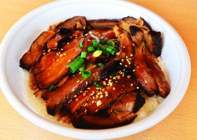お惣菜豚角煮丼
